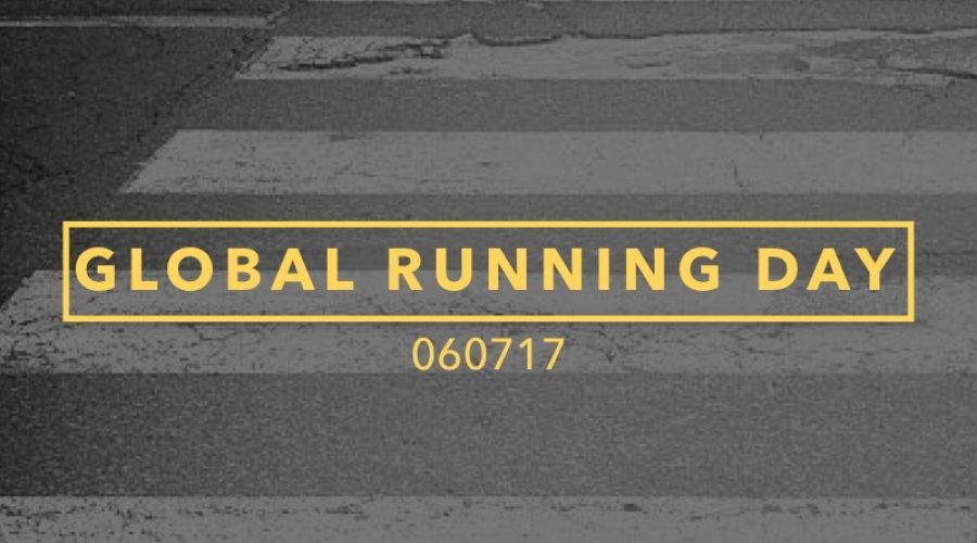 Save The Date: Global Running Day 2017 #24HoursOfRUN